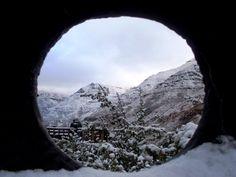 Snow in Lesotho, Maliba Lodge #Lesotho #Malibalodge