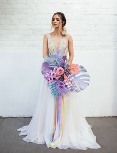 We're loving the feminine + whimsical wedding inspiration in today's editorial with pops of iridescent details and rainbow pastel colors! Wedding Trends, Wedding Designs, Boho Wedding, Floral Wedding, Wedding Colors, Dream Wedding, Wedding Ideas, Wedding Rustic, Decor Wedding