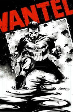 Classic Punisher by Jimbo Salgado