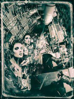 David Bowie, Submarine, Russian, Sandrine Dulermo, Michael Labica, fashion Photography