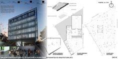 """Galeria de Resultado do """"VI Concurso Alacero 2013"""" de projeto em aço para estudantes de arquitetura - 14"""
