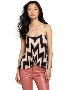 BCBGeneration Women's Sunburst Cami Shirt