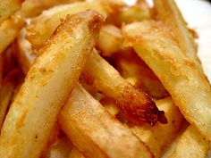 Pressure Cooker French Fries.  Fry the French fries until they are a medium golden brown color