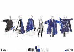 Fashion Sketchbook - fashion design final boards; fashion illustration; lineup; fashion portfolio // Alexandra Baldwin
