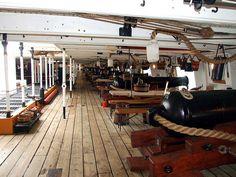 HMS Warrior Gundeck