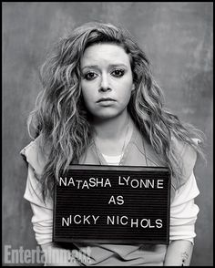 Natasha Lyonne as Nicky Nichols in Orange Is The New Black. Hot. I love her too! rawr!