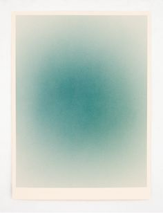 Macarena Ruiz-Tagle: Atmosphere Series, 2013 Acrilic and watercolor paper.