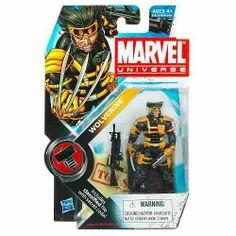 marvel universe action figures   Marvel Universe Action Figure -wolverine .vmj. Dzz