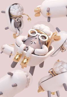 One artist/brand has been on our radar over the past few months and finding out he will be exhibiting Beijing Toy Show this weekend! definitely, a stand out from the crowd will be artist BBK 3d Character, Character Design, Love Shape, Artist Branding, 3d Rose, Modelos 3d, 3d Typography, Moon River, Cg Artist