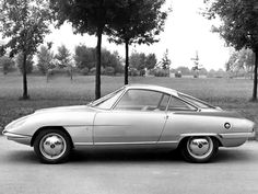 """1959 Fiat-O.S.C.A. 1500 (Bertone) """