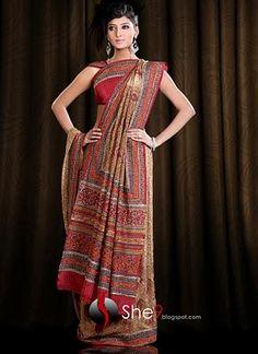 Indian Artistic Sarees   Delhi Saree Designs