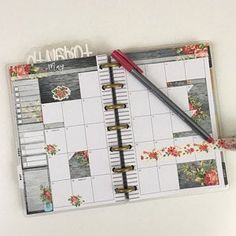 Darchelle Vajen added a photo of their purchase Bullet Journal Birthday Tracker, Daily Bullet Journal, Planner Stickers, Bujo, Types Of Planners, Erin Condren Life Planner, Craft Materials, Sticker Paper, Happy Planner