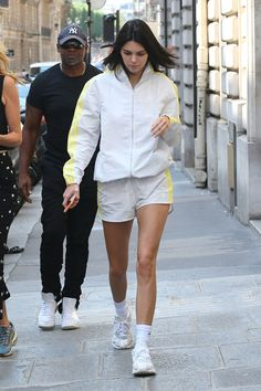 d77e56130cd2f Kendal Jenner's Mile-Long Leg Secret Includes a Pair of $1,500 Adidas  Sneakers