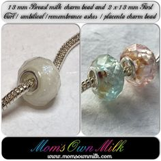 Here's another #Multibuy saving!  Purchase a 13 mm #breastmilk charm bead with any TWO other 13 mm charm bead (#FirstCurl, #umbilical, #placenta or #RemembranceAshes) and pay the low price of only £ 100 for the set!  Order today and make this #Valentines a day to remember with your very own #momsownmilk creation.   Visit the #OnlineStore and navigate to the #Multibuy page to place your order.   www.momsownmilk.com/products @momsownmilk  #breastmilkjewellery #momsnewstuff