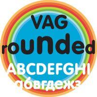 flag - VAG ROUNDED  #tipografia