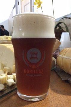 Cerveja Gorillaz American IPA, estilo American IPA, produzida por Gorillaz, Brasil. 6.8% ABV de álcool.