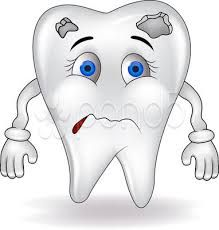 Dental Tip: Do your tooth decay is in the first stage, then dentist apply you a fluoride varnish to the affected area. This will help you to stop decay further, probably if you decrease your sugar intake Dentist Cartoon, Tooth Cartoon, Remedies For Tooth Ache, Dental Art, Dental Kids, Dental Bridge, Stained Teeth, Best Dentist, Dental Surgery