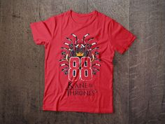 Kane Of Thrones tees available at www.NorthLegends.ca