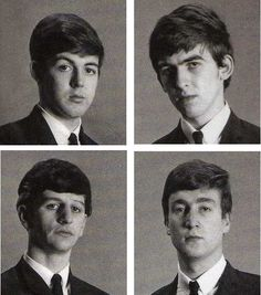 The Beatles, OMG., they are so young