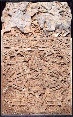 TÜRK KOZMOLOJİSİ: TÜRK SELÇUKLU STUCCO FİGÜRATİF ESERLER The Turk, Stone Carving, Wood Carving, Turkish Art, 11th Century, Art And Architecture, Islamic Art, Traditional Art, Archaeology