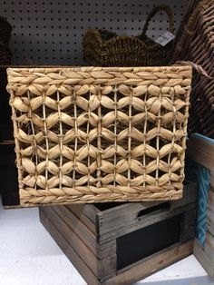 Another lovely basket I found at #TuesdayMorning.  This one is just $12.99 (compare at $30).