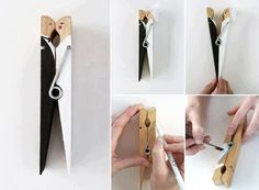 Save time for creative and interesting ideas. Make creative stuff out of wooden pegs. You can make awesome decorations out of wooden pegs or some things Unique Wedding Favors, Wedding Crafts, Wedding Souvenir, Quirky Wedding, Articles En Bois, Home Bild, Creative Wedding Ideas, Wooden Pegs, On Your Wedding Day