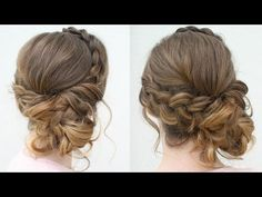 Braided Prom Updo How to Video Tutorial