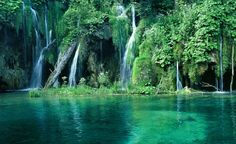 Stunning. Plitvice Lakes National Park, Croatia