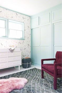 Take+a+Peek+Inside+a+Nursery+Made+for+a+Future+Fashionista+via+@mydomaine