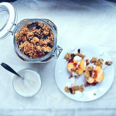 RECIPE : super healthy granola