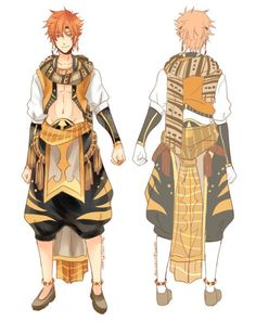 """Gou, Momo and Kisumi Splash Free! Ending arabian outfit designs *u*; I also did a Sousuke version a while back Ahh I took super long to reply to these haha if it's not too late now :""""D messy refs but. Fantasy Character Design, Character Concept, Character Inspiration, Character Art, Dnd Characters, Fantasy Characters, Anime Egyptian, Splash Free, Free Anime"""