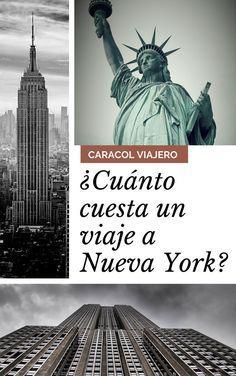 Presupuesto para viajar a Nueva York: ESTA, vuelos, alojamiento, transporte, comida,seguro y actividades #caracolnewyork #NuevaYork #viajes World Traveler, Where To Go, Of My Life, My Dream, Statue Of Liberty, New York City, Travel Photography, How To Plan, Travel Blog