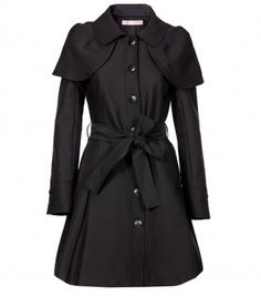 As You Wish! Coat | Allanah Hill  I just died. I LOVE the cape.