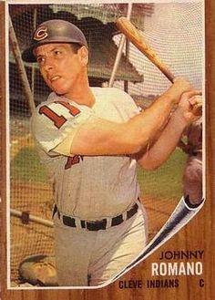 1962 Topps #330 Johnny Romano Front