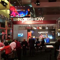 And here we go! Pumped for day 1 of #NABShow