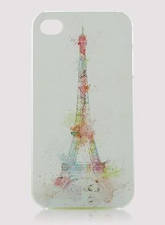 Eiffel Tower Cellphone Case for Iphone4/4s
