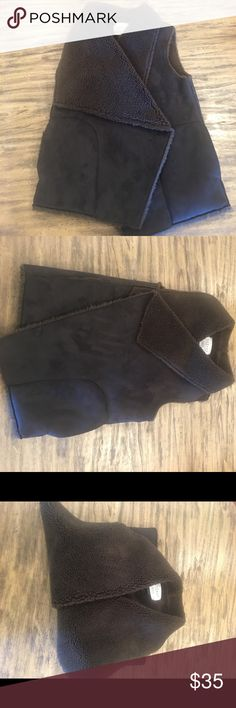 Velvet by Graham&Spencer suede and fur vest This Velvet by Graham and Spencer Suede and Shearling vest is like new. It was only worn once. It is a stunning! Super special, one of a kind piece. Velvet by Graham & Spencer Jackets & Coats Vests