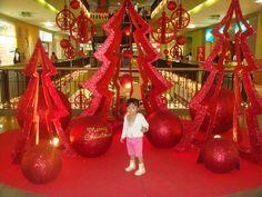 Large Christmas display