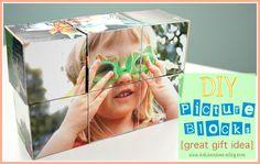 DIY Picture Blocks - Ask Anna