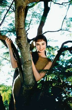 Audrey Hepburn as Rima by Bob Willoughby