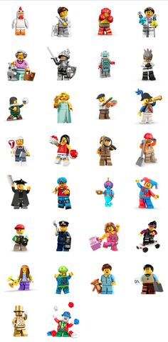 #LEGO Minifigures