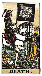Holistic Tarot Correspondences for the Death Card