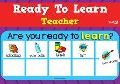 Ready To Learn - Teacher