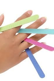 Tipos de limas para hacer tu manicura en casa #manicura #limas #nails