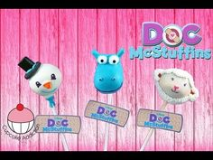 DOC MCSTUFFINS Cake Pops - Make Disney Cakepops - Learn how to make these delicious treats, and heaps more at Mycupcakeaddiction! Doc Mcstuffins Cake, Doc Mcstuffins Birthday Party, 2nd Birthday Parties, Birthday Ideas, Girl Cupcakes, Cupcake Cookies, Cake Decorating Tutorials, Cookie Decorating, Candy Pop