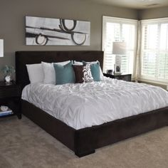 Love the bed/bedding!