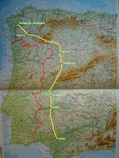 Deze route ga ik lopen vanaf begin april.