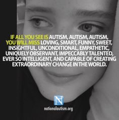 #autism          VERY DESCRIPTIVE>>> and my grandson gets more so with each passing day.....
