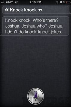 I might have to make a board for Siri stuff.