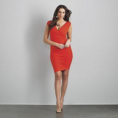 So this is a dress from Sofia Vergera for Kmart. It isn't really my style, but I love that the model is curvy and voluptuous..with hips and a butt! I almost want to buy the dress just to support the Sofia movement! Yay for girls with curves!